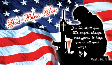GOD LOVES AMERICA - PATRIOTIC CARDS